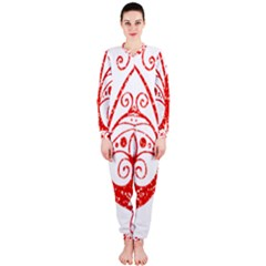 Ruby Butterfly OnePiece Jumpsuit (Ladies)