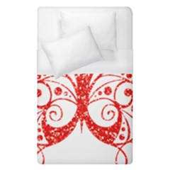 Ruby Butterfly Duvet Cover (Single Size)