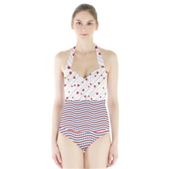 American Style Halter Swimsuit