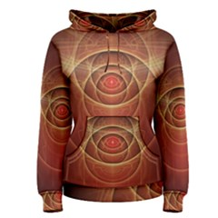 The Rusty Red Fractal Scarab of Fiery Old Man Ra Women s Pullover Hoodie