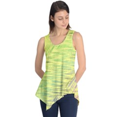 Paint On A Yellow Background                        Sleeveless Tunic