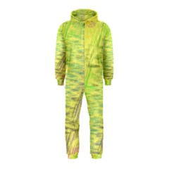 Paint On A Yellow Background                        Hooded Jumpsuit (kids)