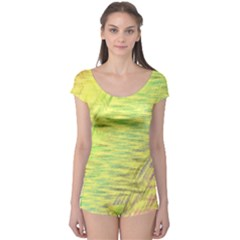 Paint on a yellow background                        Boyleg Leotard (Ladies)