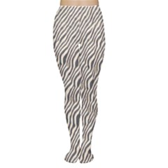 Zebra Pattern Animal Print Women s Tights