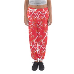 Small Flowers Pattern Floral Seamless Pattern Vector Women s Jogger Sweatpants