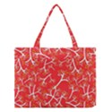 Small Flowers Pattern Floral Seamless Pattern Vector Medium Tote Bag View1