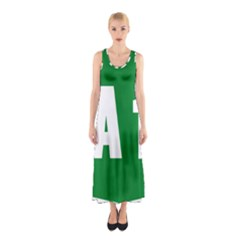 Autostrada A1 Sleeveless Maxi Dress