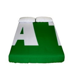 Autostrada A1 Fitted Sheet (Full/ Double Size)