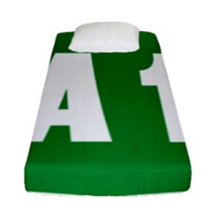 Autostrada A1 Fitted Sheet (Single Size)