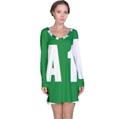 Autostrada A1 Long Sleeve Nightdress