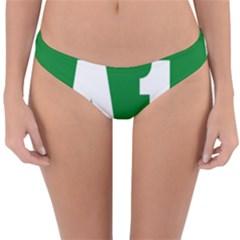 Autostrada A1 Reversible Hipster Bikini Bottoms