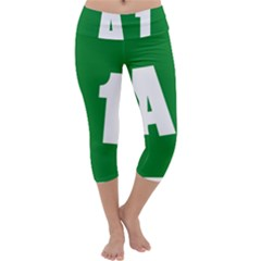 Autostrada A1 Capri Yoga Leggings