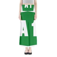 Autostrada A1 Full Length Maxi Skirt