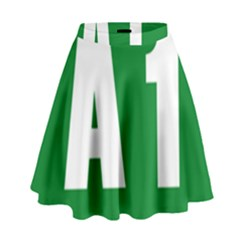 Autostrada A1 High Waist Skirt