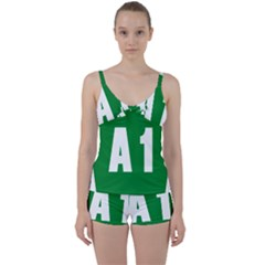 Autostrada A1 Tie Front Two Piece Tankini