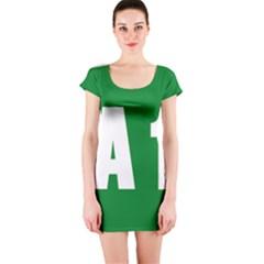 Autostrada A1 Short Sleeve Bodycon Dress
