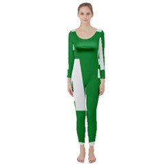 Autostrada A1 Long Sleeve Catsuit