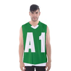 Autostrada A1 Men s Basketball Tank Top