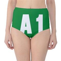 Autostrada A1 High Waist Bikini Bottoms