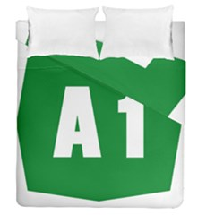 Autostrada A1 Duvet Cover Double Side (Queen Size)