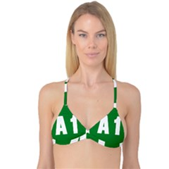 Autostrada A1 Reversible Tri Bikini Top