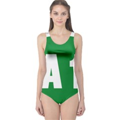 Autostrada A1 One Piece Swimsuit