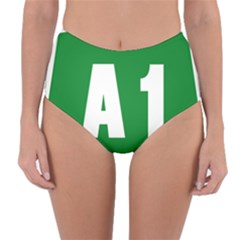 Autostrada A1 Reversible High Waist Bikini Bottoms