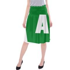 Autostrada A1 Midi Beach Skirt