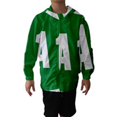 Autostrada A1 Hooded Wind Breaker (Kids)