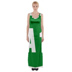 Autostrada A1 Maxi Thigh Split Dress