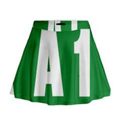 Autostrada A1 Mini Flare Skirt