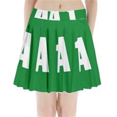 Autostrada A1 Pleated Mini Skirt