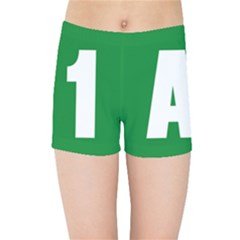 Autostrada A1 Kids Sports Shorts
