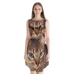 Abyssinian 2 Sleeveless Chiffon Dress