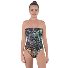 Coraux Myst¨|rieux 2 0 Tie Back One Piece Swimsuit
