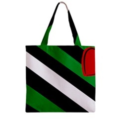 Boi Zipper Grocery Tote Bag