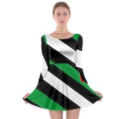 Boi Long Sleeve Skater Dress
