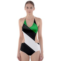 Boi Cut-Out One Piece Swimsuit
