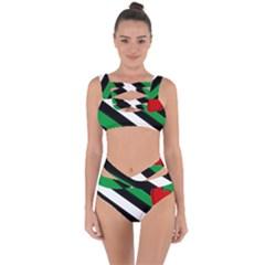 Boi Bandaged Up Bikini Set