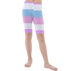 Bigender Kids  Mid Length Swim Shorts