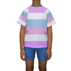 Bigender Kids  Short Sleeve Swimwear