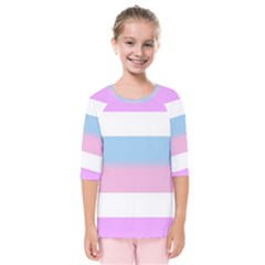 Bigender Kids  Quarter Sleeve Raglan Tee