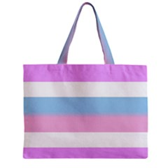 Bigender Zipper Mini Tote Bag