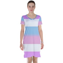 Bigender Short Sleeve Nightdress