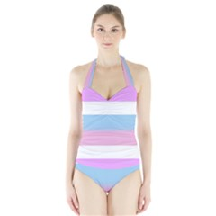 Bigender Halter Swimsuit