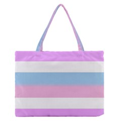 Bigender Medium Zipper Tote Bag