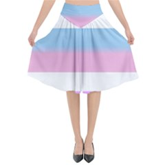 Bigender Flared Midi Skirt