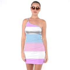 Bigender One Soulder Bodycon Dress