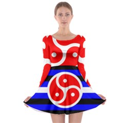 Bdsm Rights Long Sleeve Skater Dress