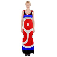 Bdsm Rights Maxi Thigh Split Dress